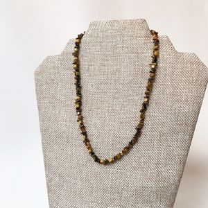 Jewelry - Autumn Stone Chip Necklace